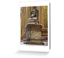 Grand Palace Buddha Greeting Card