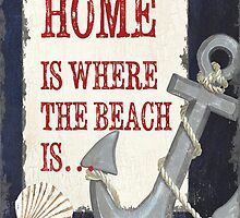 Beach Time 2 by Debbie DeWitt