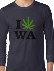 I Marijuana Washington Long Sleeve T-Shirt