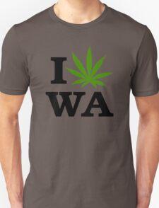 I Marijuana Washington Unisex T-Shirt