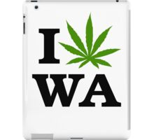 I Marijuana Washington iPad Case/Skin