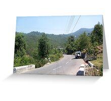 Roadside Stop Greeting Card