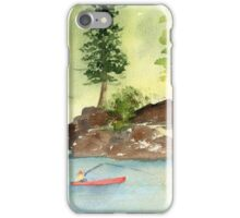 Paulina Lake, Oregon iPhone Case/Skin