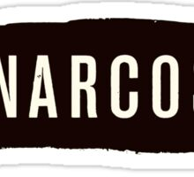 Narcos - Black Sticker