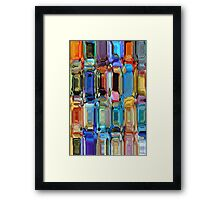 Buuterfly blocks Framed Print