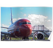 Would you like a plane with that? Poster