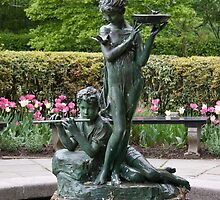 The Secret Garden Fountain by Ellen McKnight