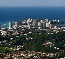 Coolangatta from the Air by Odille Esmonde-Morgan
