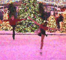 Skating around the Christmas tree 2 by cherylc1