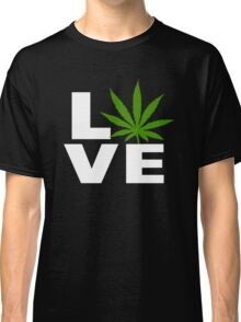 I Love Marijuana Classic T-Shirt