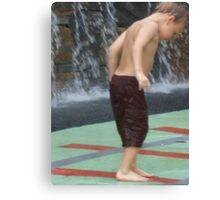 Summer Water Fun-Greenville Canvas Print