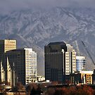 Downtown Salt Lake City - Panorama by Ryan Houston