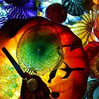 Blown Glass-Kaleidescope by Karen L Ramsey