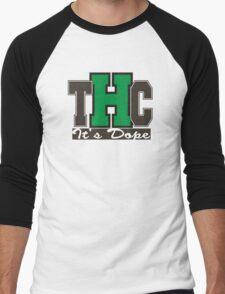 THC Marijuana Men's Baseball ¾ T-Shirt