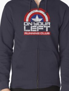 """On Your Left Running Club"" Version 02 T-Shirt"