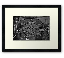 Mouth of The Monster Framed Print