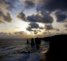 Apostles Sunset I by Richard Heath