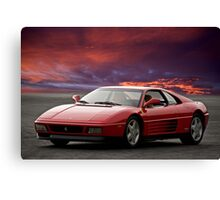 Ferrari 348 tb Canvas Print