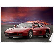 Ferrari 348 tb Poster