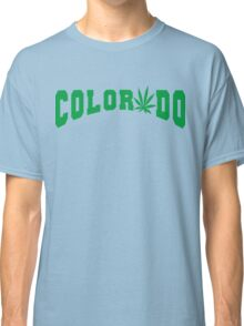 Marijuana Leaf Colorado Classic T-Shirt
