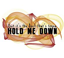 Hold Me Down by rosabelledraws