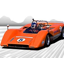 1969 McLaren MC8 Can Am Racecar by DaveKoontz