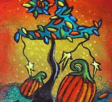 Autumn Celebration III, Panel 1 by Juli Cady Ryan