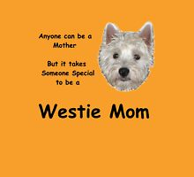 Westie MOM 2 Womens Fitted T-Shirt