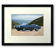 1950 Studebaker Champion Custom Convertible Framed Print