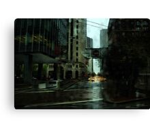 San Francisco Rain Canvas Print