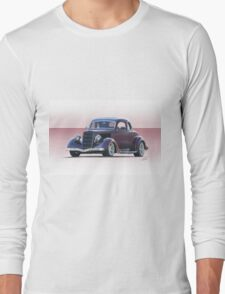 1935 Ford 5 Window Coupe Long Sleeve T-Shirt