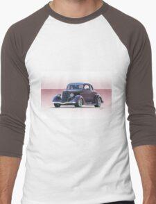 1935 Ford 5 Window Coupe Men's Baseball ¾ T-Shirt