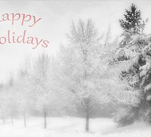 Happy holidays by Angela King-Jones