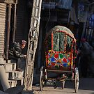 In the Streets of Kathmandu by Peter Hammer