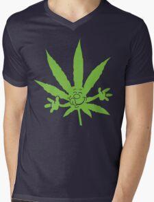 Marijuana Munchies Mens V-Neck T-Shirt
