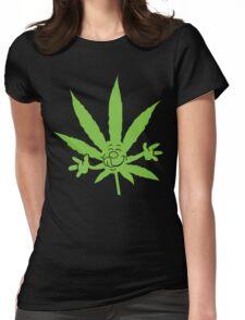 Marijuana Munchies Womens Fitted T-Shirt