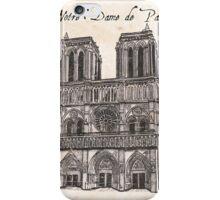 Notre Dame de Paris iPhone Case/Skin
