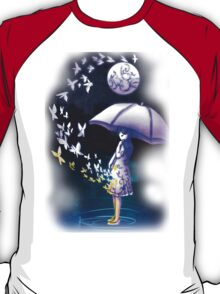 The Girl is Fading . Ver: Magic T-Shirt