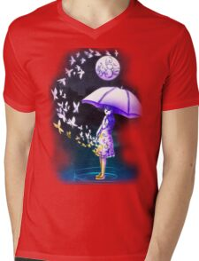 The Girl is Fading . Ver: Magic Mens V-Neck T-Shirt