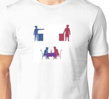 All's Fair in Love and Court Unisex T-Shirt