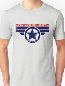 """On Your Left Running Club"" Hybrid T-Shirt"