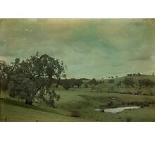 A Country Dam Photographic Print