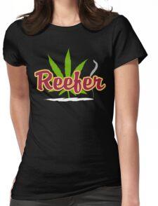 Reefer Marijuana Womens Fitted T-Shirt