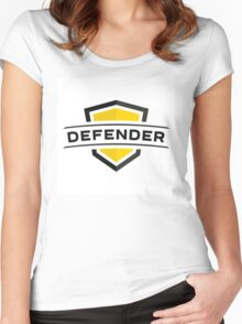 Strong impenetrable shield! Women's Fitted Scoop T-Shirt