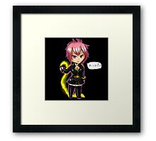 Fairy Tail Chibi Eclipse Virgo Framed Print