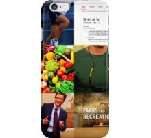 Chris Traeger Aesthetic  iPhone Case/Skin