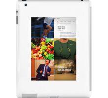 Chris Traeger Aesthetic  iPad Case/Skin