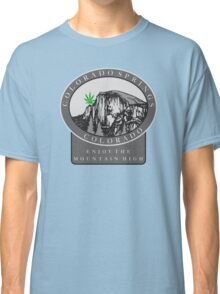 Marijuana Colorado Springs Classic T-Shirt