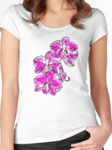 Orchid - 76 Women's Fitted Scoop T-Shirt