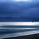 Grey Dawn in Hervey Bay by Peter Doré